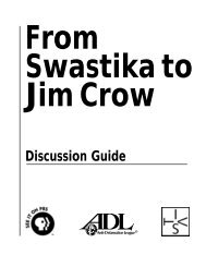 from swastika to jim crow discussion guide - PBS