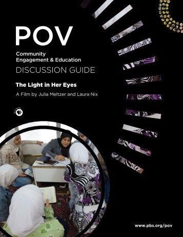 Discussion Guide (PDF) - PBS