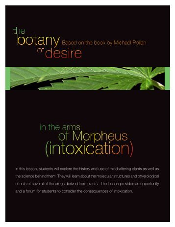 in the arms of Morpheus (intoxication) - PBS