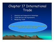 International Trade Power Point Notes