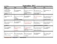 September 2012 Economics and Personal Finances Period 4 Mon ...
