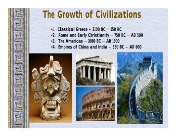 2100 BC – 150 BC