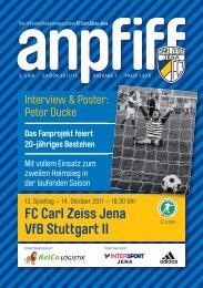 FC Carl Zeiss Jena VfB Stuttgart II