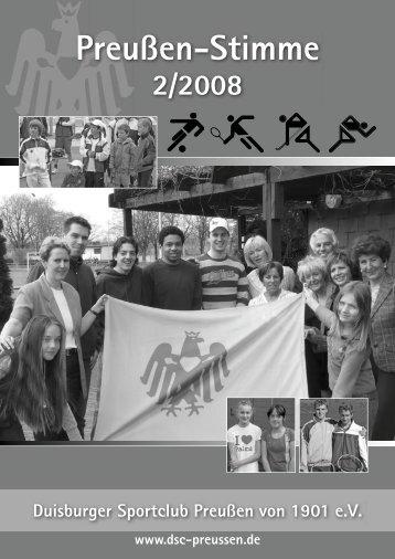 2/2008 - DSC Preußen von 1901 e.V.