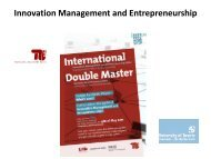 Folie 1 - Entrepreneurship und Innovationsmanagement - TU Berlin