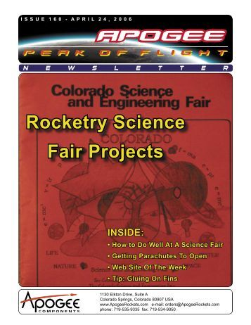 science fair projects research papers