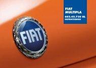 603.45.730 Fiat Multipla Instructie - Fiat-Service.nl - Informatie ...