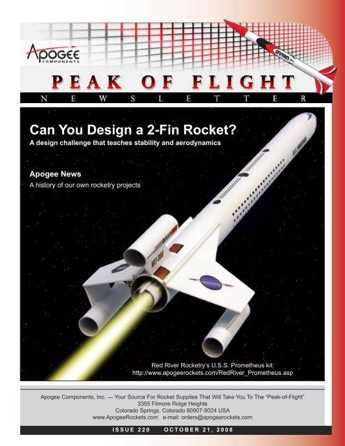 Updated Flying Model Rocket clear fin ring kit  BT-80