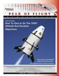 How To Zero In On The TARC Altitude - Apogee Components
