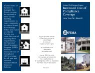 Increased Cost of Compliance Brochure