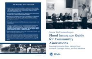 Flood Insurance Guide for Community Associations
