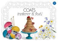 COATS inviterer til fest ! - Coats Knappehuset
