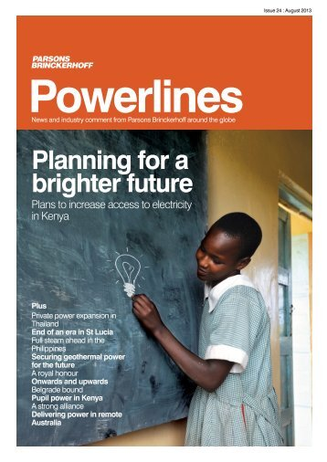 powerlines issue 24.pdf - Parsons Brinckerhoff