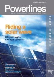 Powerlines - Issue #20 - September 2010 - Parsons Brinckerhoff