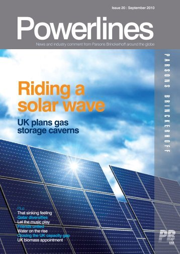 Powerlines - Issue #20 - September 2010 - Parsons Brinckerhoff