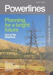 Powerlines - Issue #21 - July 2011 - Parsons Brinckerhoff