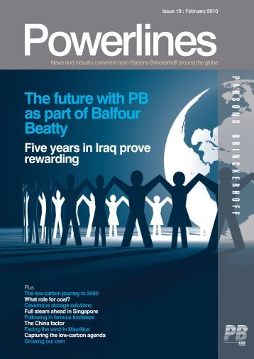 Powerlines - Issue #19 - February 2010 - Parsons Brinckerhoff
