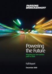 Powering the Future Full Report - Parsons Brinckerhoff