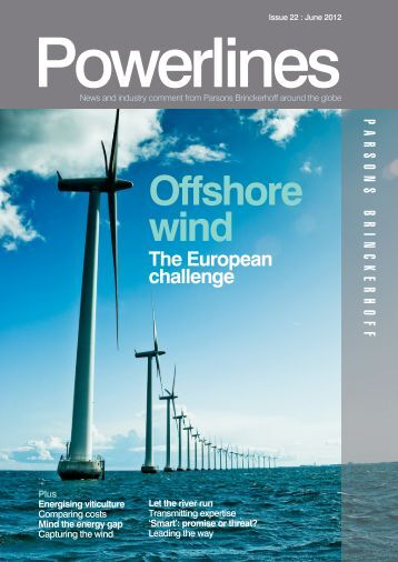 Powerlines - Issue #22 - June 2012 - Parsons Brinckerhoff