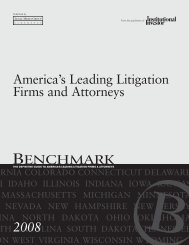 America's Leading Litigation Firms and Attorneys - Patterson ...
