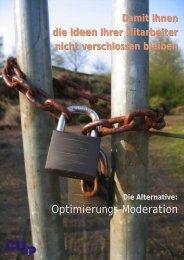 Das Potenzial der Optimierungs-Moderation ... - Cup-Neumann