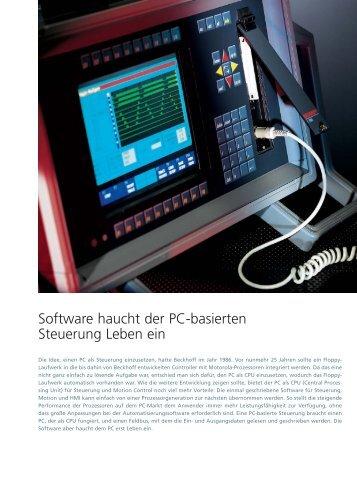 Software haucht der PC-basierten Steuerung Leben ein - PC-Control