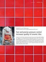 Embedded PCs control hydraulic press: Optimized ... - PC-Control