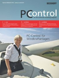 Special | Windkraft 2010 - PC-Control