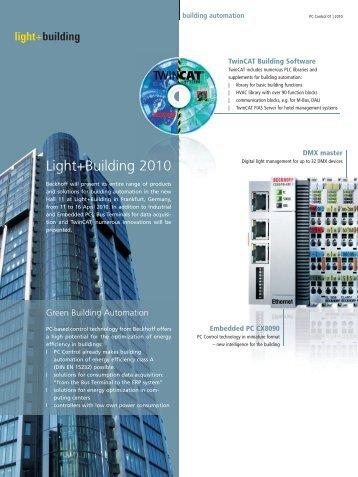 Light+Building 2010 (PDF) - PC-Control