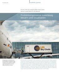 LSG Sky Chefs: Der weltweit größte Airline-Caterer ... - PC-Control