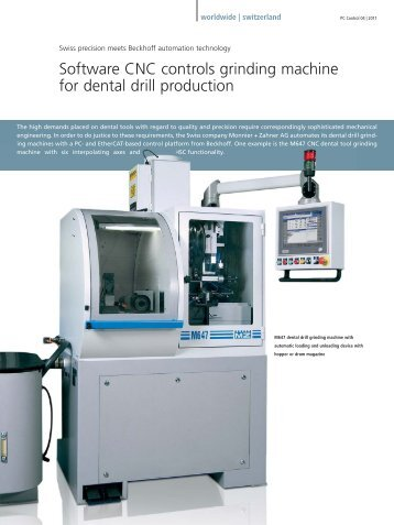 Swiss precision meets Beckhoff automation technology - PC-Control
