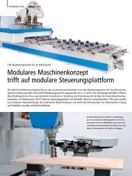 CNC-Bearbeitungszentren für die Holzindustrie - PC-Control