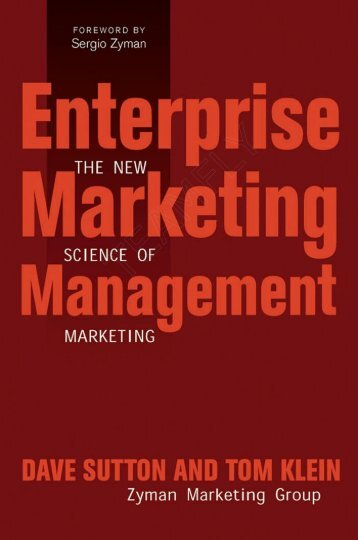 Enterprise Marketing Management - The New ... - Pc-Freak.Net