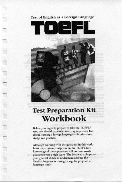 Ets Toefl Preparation Kit Workbook pdf - Pc-Freak Net