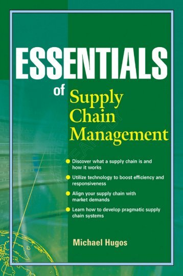 Wiley - Essentials of Supply Chain Management.pdf - Pc-Freak.Net