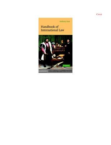 Cambridge - Handbook of International Law 2005.pdf - Pc-Freak.Net