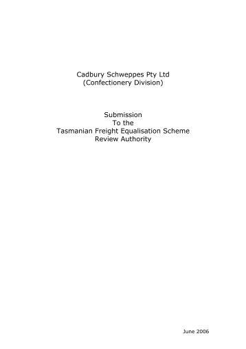 Cadbury Schweppes Pty Ltd