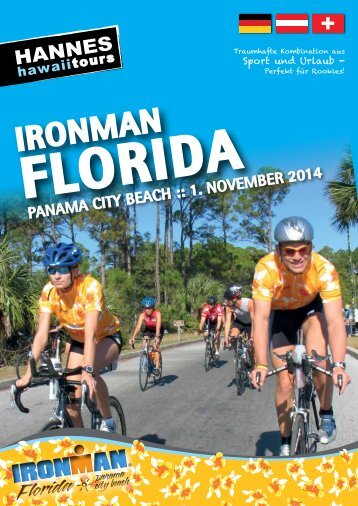 Hannes Hawaii Tours - IM Florida 2014