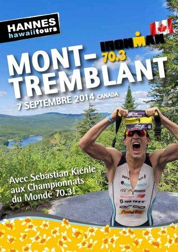 Hannes Hawaii Tours - IM 70.3 WM Mont Tremblant 2014 - FR