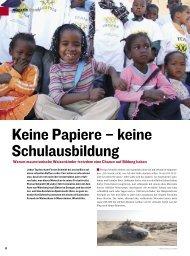 Keine Papiere – keine Schulausbildung - Dust and Diesel