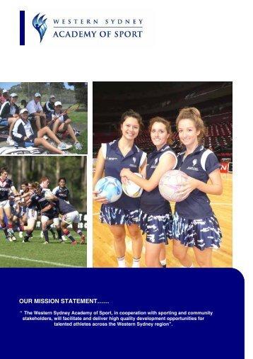 Western Sydney Academy of Sport Inc (PDF - 222 Kb)