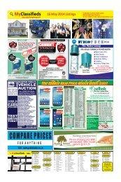 16 May 2014 MyClassifieds Listings