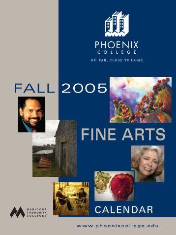 Fine Arts Calendar (Fall 2005)