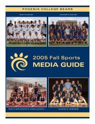 2005 Fall Sports Media Guide