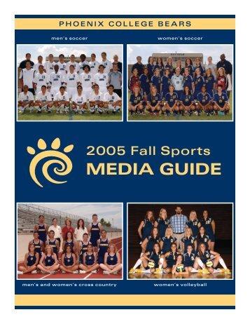2005 Fall Sports Media Guide