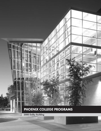 Phoenix College Programs - Multiple Choices - Maricopa ...