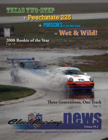 = Wet & Wild! - Porsche Club of America