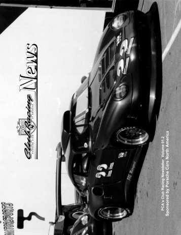 2001, Volume 2 - Porsche Club of America