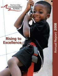 Rising to Excellence - Partnership for Community Action
