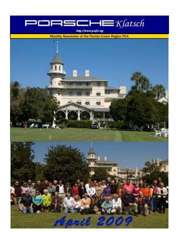 April 2009 - Florida Crown Region